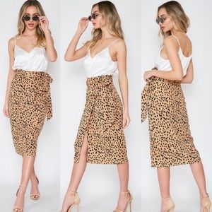 Dot Wrap Skirt - New!